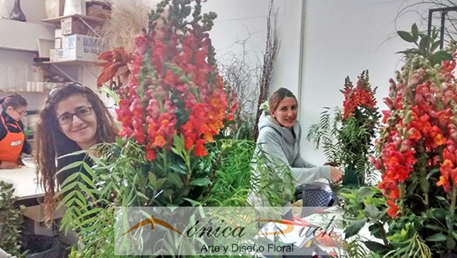 monica duch-arreglo floral recepcion 1